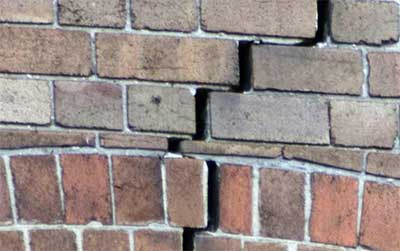 Cracked Brickwork and subsidence